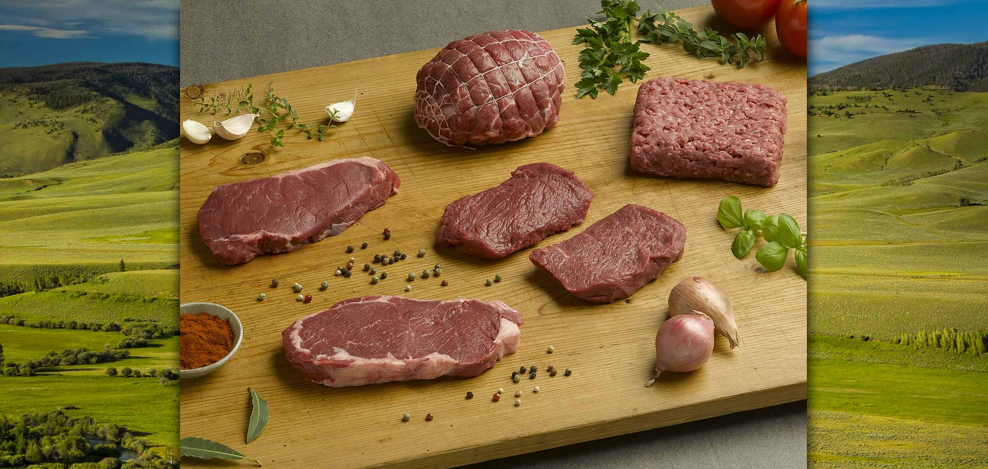 bison products raw